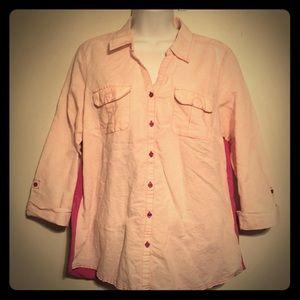 Linen - Cotton Shirt Croft & Barrow